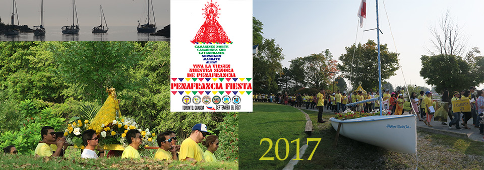 Video of Our Lady Of Penafrancia Festival Toronto Canada 2017